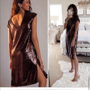 NWT Anthropologie Maeve Kara sequined dress